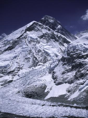 Mount Everest and the Landscape That Surrounds It, Nepal