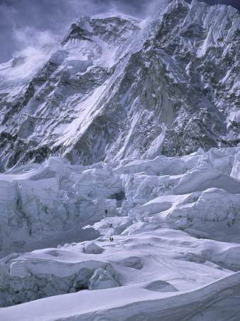 Khumbu Ice Fall, Everest, Nepal