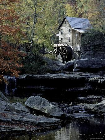 Old Mill in Fall, USA