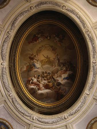 Apollo and the Muses, Fresco, Ceiling of Grand Staircase