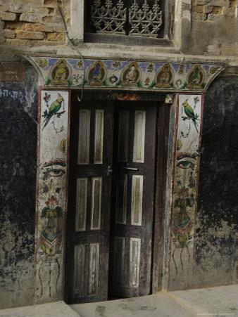 Door with Eyes, Nepal