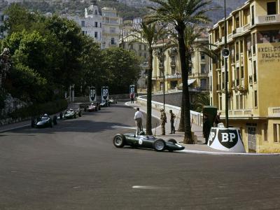 1963 Monaco Grand Prix, BRM V8, Graham Hill