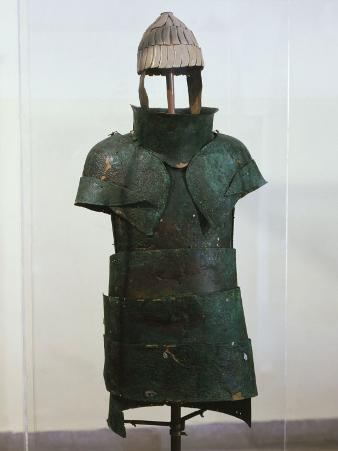 Armour, Bronze, Mycenaean, from Dendra, Greece