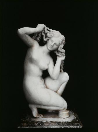 Aphrodite, Marble, 2nd century BC Hellenistic Greek