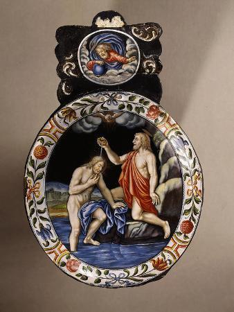 Baptism of Christ, Enamel