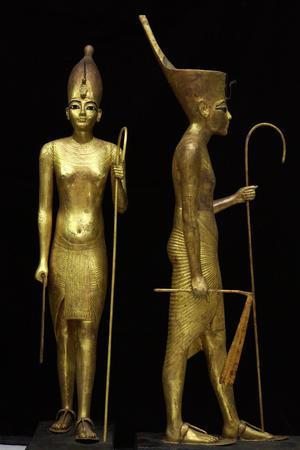 Tutankhamen, Statue