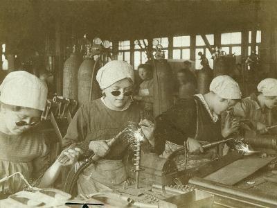 Wartime Economy, Women as Welders During World War I