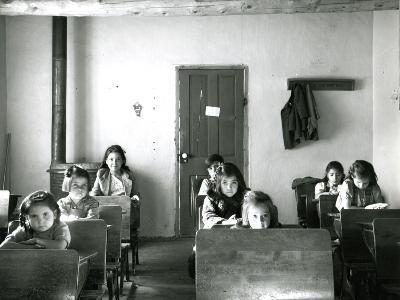 Village School, USA, 1941