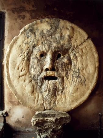 La Bocca della Verit?The Mouth of Truth), Roman Relief of the Face of the Sea God Oceanus