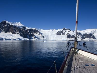 "Sy ""Adele"", 180 Foot Hoek Design, Exploring Wilhelmina Bay, Antarctica, January 2007"