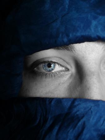 Blue Tuareg Eye