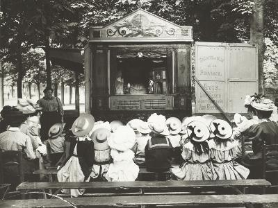 Punch and Judy, France, C.1900