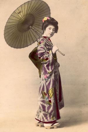 Geisha, C.1900