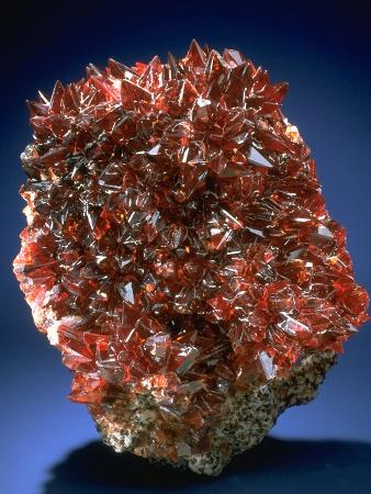 MineralCalendar: Rhodochrosite. South Africa