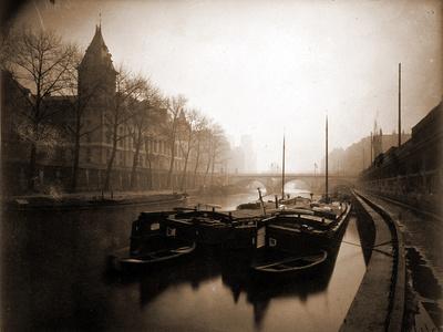 La Conciergerie et la Seine, Brouillard en Hiver, 1923