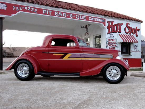 Billy F Gibbons Zz Top Car Photographic Print By David Perry At