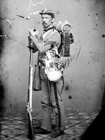 Sgt. Joseph Dore, 7th N.Y.S.M., c.1865