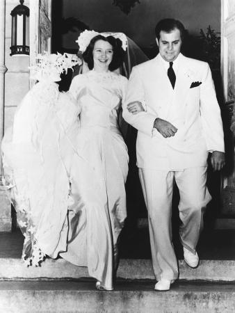 Al Capone's son takes a bride. Mr. and Mrs. Albert Francis Capone