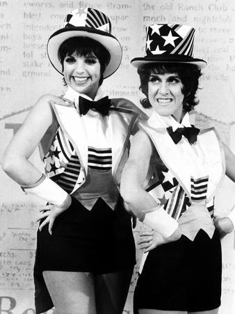 Liza Minnelli and Ruth Buzzi Perform a Tap Dance on the Rowan and Martin's Laugh-In