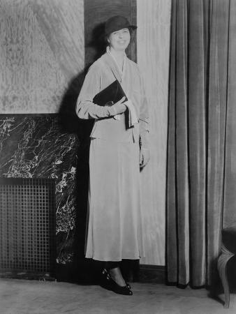 Eleanor Roosevelt, on Inauguration Day 1933