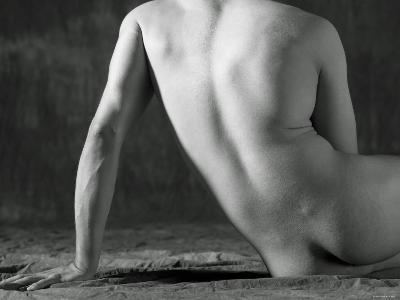 Nude Back of Sensual Man