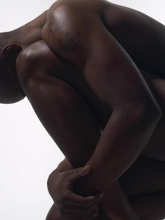 Male Nude Sitting