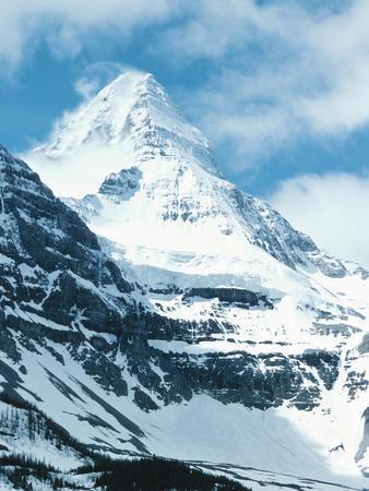 Snow-Capped Mountain - Rockies, Mount Assiniboine