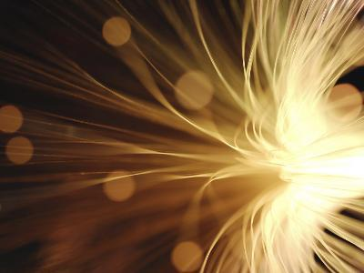 Fiber Optic Wires in Light