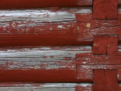 Close-up of Wood Fence