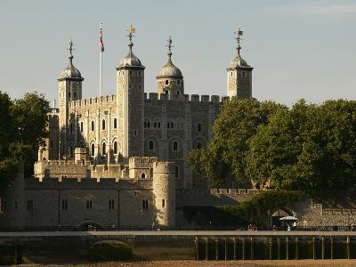 The Tower of London on Sunny Summer Day