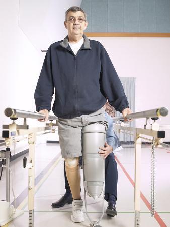 Patient with Rehabilitation Specialist