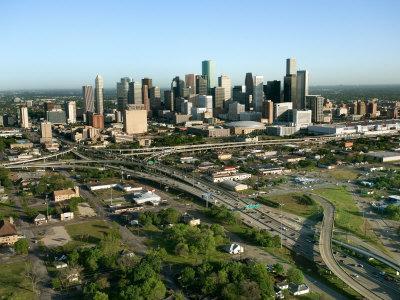 Grandiose Aerial View of Houston, Texas