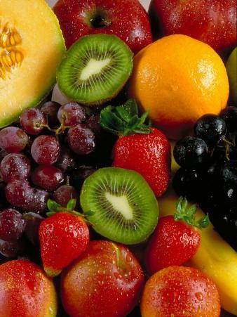 Variety of Fresh and Juicy Fruits