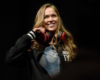 UFC 170 Weigh In: Feb 21, 2014 - Ronda Rousey vs Sara McMann