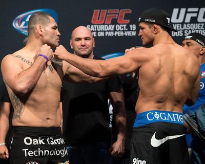 UFC 166: May 25, 2013 - Cain Velasquez vs Junior Dos Santos
