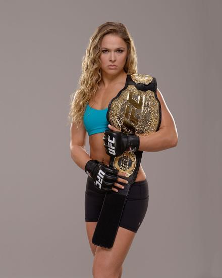 Ufc Fighter Portraits Ronda Rousey Photo By Jeff Bottari
