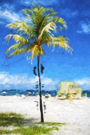 South Beach Miami II - In the Style of Oil Painting