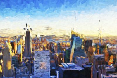 New York City III - In the Style of Oil Painting