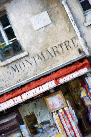Montmartre Souvenirs - In the Style of Oil Painting