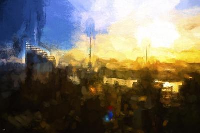NYC Sunset Abstract