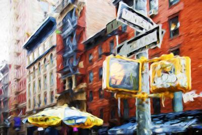 NYC Scenes - In the Style of Oil Painting