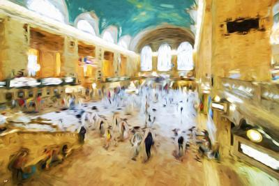 Grand Central Terminal II - In the Style of Oil Painting