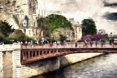Paris Bridge Lovers