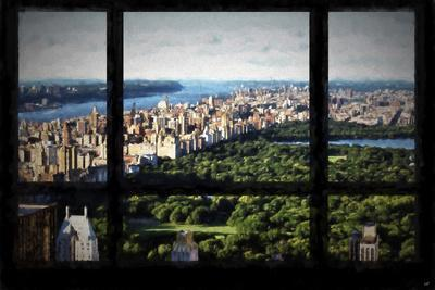 Central Park View from the Window