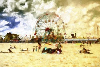 Coney Island Summer Beach