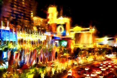 Vegas Palace - In the Style of Oil Painting