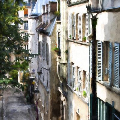 Parisian Street Montmartre