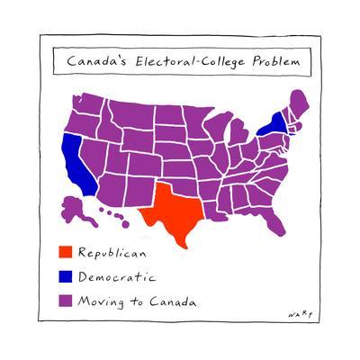 Canada's Electoral College problem - Cartoon