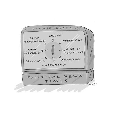 Political News Timer - Cartoon