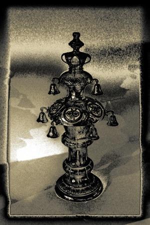 Silver Torah Handle, 2015